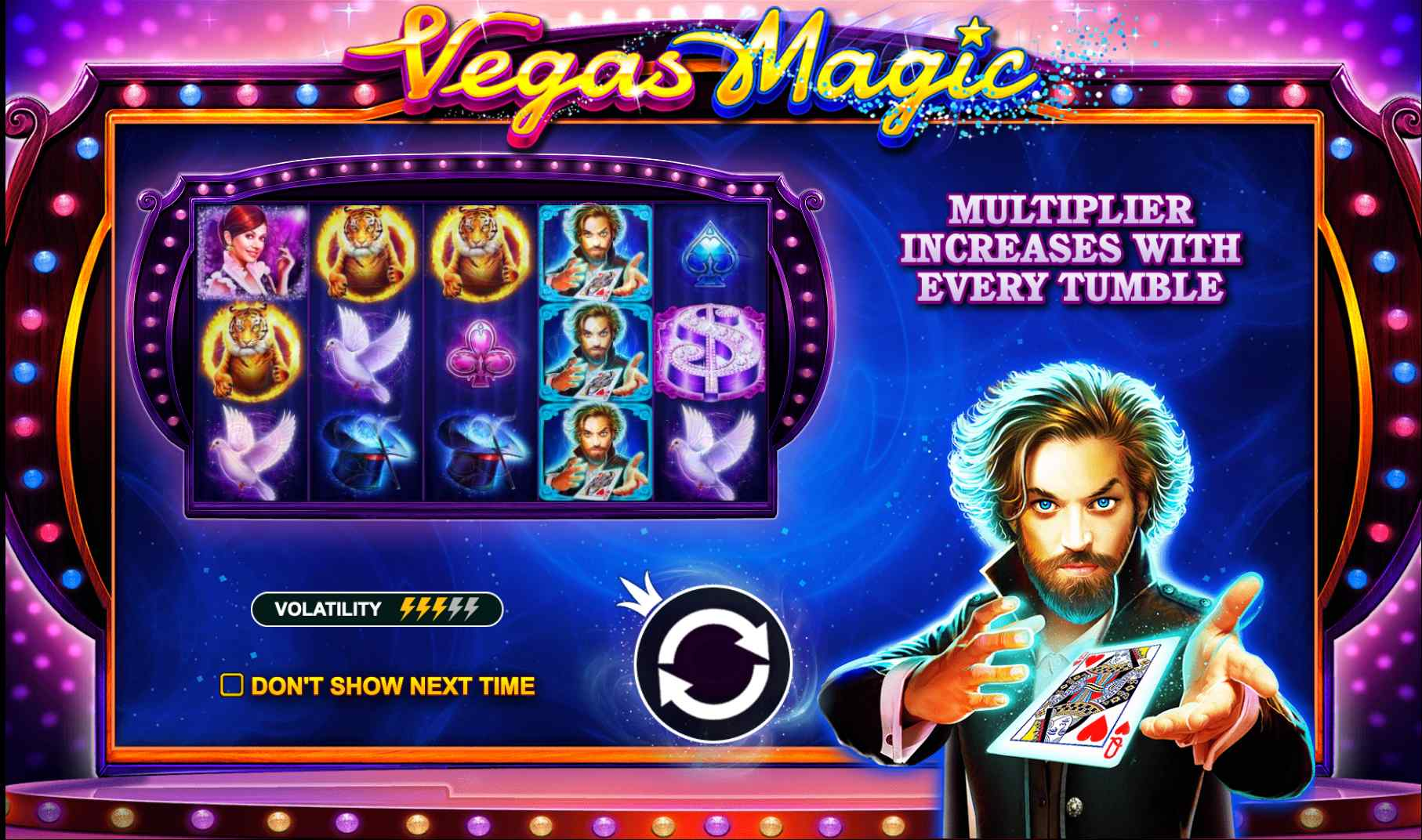 слот Vegas Magic